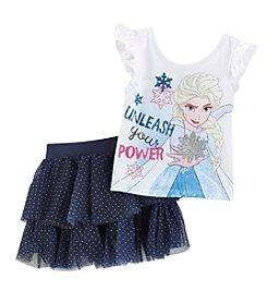 Disney® Girls' 2T-4T Frozen Tulle Skirt Set