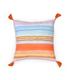 Haute Girls Safari Stripe Decorative Pillow