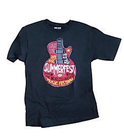 Summerfest Men's Guitar Art Tee
