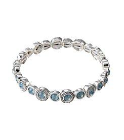 Napier® Faceted Stone Stretch Bracelet