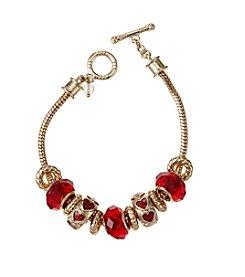 Napier® Boxed Heart Slider Bracelet