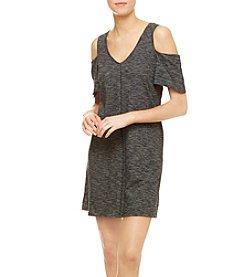 Sanctuary® Striped Cold-Shoulder Dress