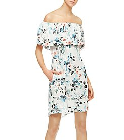 Sanctuary® Havana Floral Off-Shoulder Dress