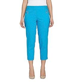 Chaus Dena Zipper Pocket Pants
