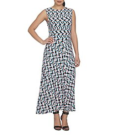 Chaus Shadow Glass Maxi Dress