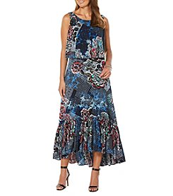 Rafaella® Petites' Printed Maxi Dress