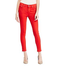 Lauren Ralph Lauren® Premier Cropped Skinny Jeans