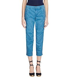 Lauren Ralph Lauren® Cropped Stretch Twill Pants