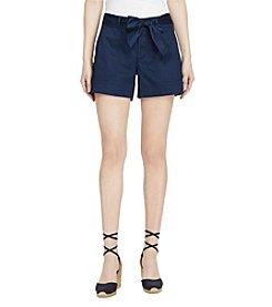 Lauren Ralph Lauren® Cotton Twill Shorts