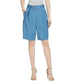 Lauren Ralph Lauren® Belted Twill Shorts