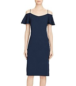 Lauren Ralph Lauren® Ponte Cutout-Shoulder Dress