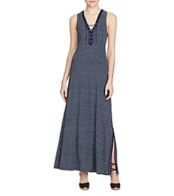 Lauren Ralph Lauren® Lace-Up Linen Dress