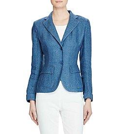 Lauren Ralph Lauren® Linen 2-Button Blazer