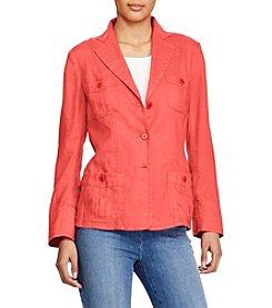 Lauren Ralph Lauren® Linen 3-Button Blazer