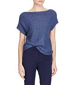 Lauren Ralph Lauren® Short-Sleeve Boatneck Sweater