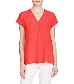 Lauren Ralph Lauren® Georgette Short-Sleeve Top