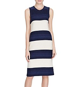 Lauren Ralph Lauren® Striped Sweater Dress