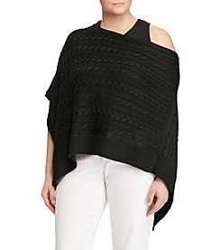 Lauren Ralph Lauren® Plus Size Sweater Poncho