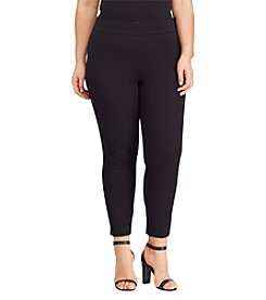 Lauren Ralph Lauren® Plus Size Slim Fit Leggings