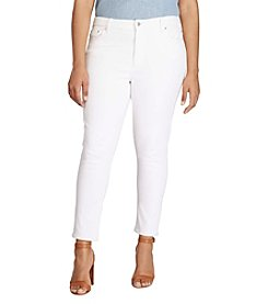 Lauren Ralph Lauren® Plus Size Superstretch Ankle Jeans