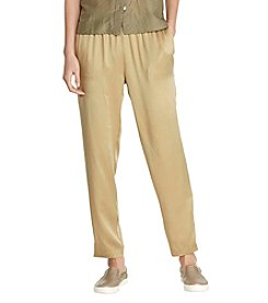 Lauren Ralph Lauren® Petites' Stretch Waistband Pants