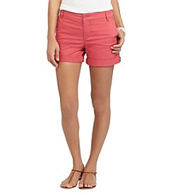 Chaps® Stretch Twill Shorts