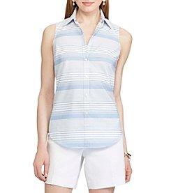 Chaps® Non-Iron Striped Cotton Shirt