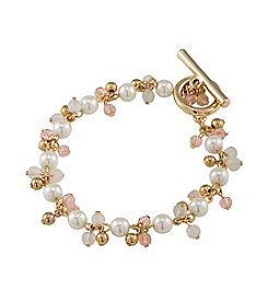 Lauren Ralph Lauren Two Dozen Roses Beaded Bracelet