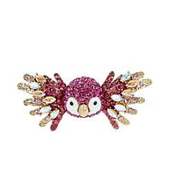 Betsey Johnson® Tropical Pave Parrot Ring