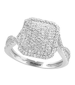 Effy® 925 Collection .43 ct. t.w. Diamond Ring