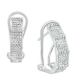 Effy® 925 Collection .36 ct. t.w. Diamond Earrings