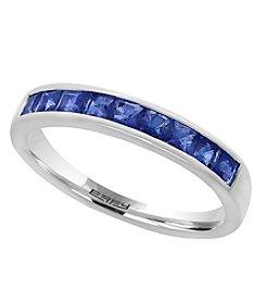 Effy® 14K White Gold Natural Sapphire Ring