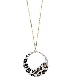 Effy® 14K Yellow Gold Diamond Pendant Necklace