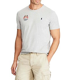 Polo Ralph Lauren® Men's Big & Tall Short Sleeve Striped Crew Neck Tee