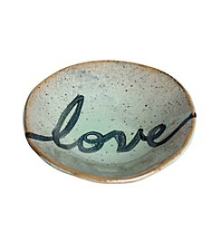 Mud & Maker Ring Dish Script Love