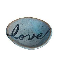 Mud & Maker Ring Dish Script Love