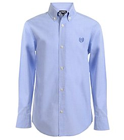 Chaps® Boys' 8-20 Long Sleeve End on End Woven Shirt