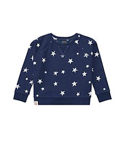 Polo Ralph Lauren® Girls' 2T-6X Star Print Boxy Sweatshirt