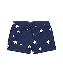 Polo Ralph Lauren® Girls' 2T-6X Star Print French Terry Shorts
