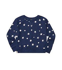 Polo Ralph Lauren® Girls' 7-16 Star Print Boxy Sweatshirt
