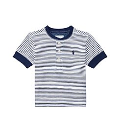 Ralph Lauren® Baby Boys' Striped Jersey Henley Tee
