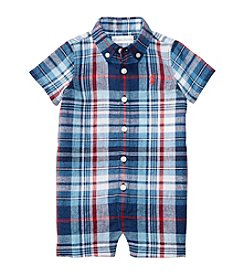 Ralph Lauren® Baby Boys' Plaid Shortalls