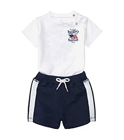 Ralph Lauren® Baby Boys' Americana Shorts Set