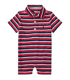 Ralph Lauren® Baby Boys' Striped Polo Shortalls