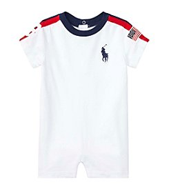 Ralph Lauren® Baby Boys' Striped Jersey Shortalls