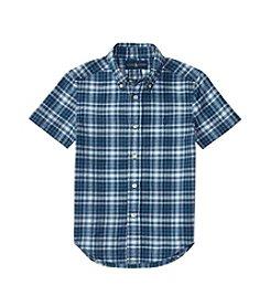 Polo Ralph Lauren® Boys' 2T-7 Short Sleeve Madras Buttondown Shirt