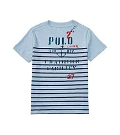 Polo Ralph Lauren® Boys' 2T-7 Short Sleeve Striped Graphic Tee