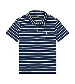 Polo Ralph Lauren® Boys' 2T-7 Short Sleeve Striped Performance Polo Shirt