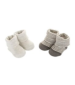 Carter's® Baby 2-Pack Stripe Keepsake Booties