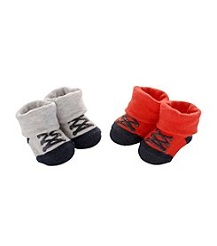 Carter's® Baby Boys' 2-Pack Sneaker Keepsake Booties